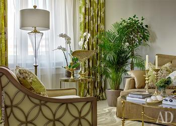 Лёгкий и светлый интерьер квартиры в Царицыно