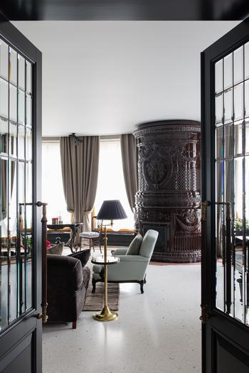 Загородный дом: интерьер в классическом стиле