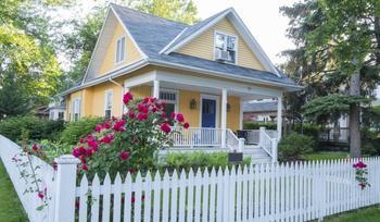Идеи оформления фасада небольших домов
