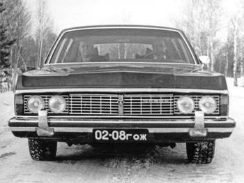 ГАЗ-14 «Чайка» - жертва перестройки