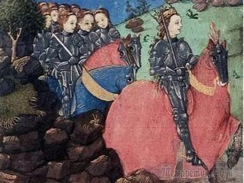 Махровый шовинизм: женщины-рыцари Средневековья