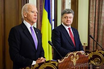 Беседы тет-а-тет: о чем Порошенко говорил с Байденом