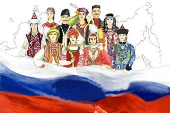 Почему Россию называют многонациональной, а Францию - мононациональной страной?