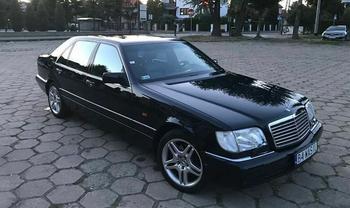 Mercedes-Benz W140 – символ 90-х. Его уважали бизнесмены и бандиты