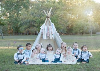 Солнечные дети: фотограф делает чудесные портреты малышей с синдромом Дауна