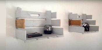 11 идей декора, которые можно смастерить из ненужных деревянных ящиков