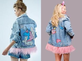 Идеи стильного преображения джинсовой куртки