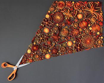 Искусство аппликации: потрясающие бумажные цветы от творческого дуэта JUDiTH + ROLFE