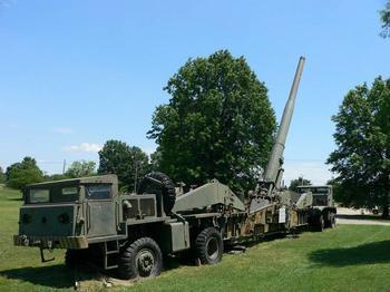 M65 Atomic Annie, первая атомная пушка США