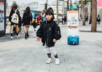 Почему сеульские дети такие модные