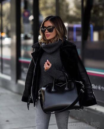 20 стильных вариантов с чем носить свитер зимой