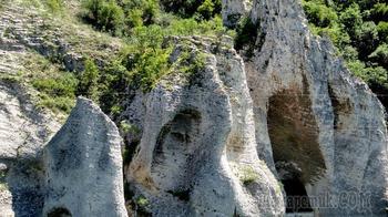 Болгарское побережье Черного моря 25. Чудесные скалы