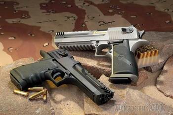 Большая пушка: 7 фактов об американо-израильском пистолете Desert Eagle