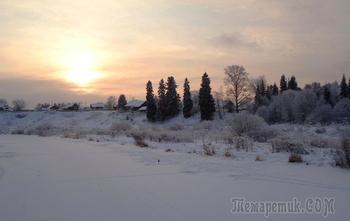 Зима... Что делать нам в деревне?....
