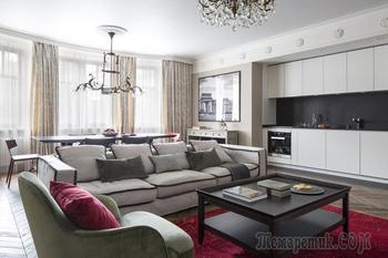 Не совсем классическая квартира в Новой Москве