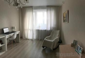 Светлая квартира для мамы за 5,5 тысячи рублей и 13 дней