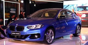 BMW 1-Series Sedan 2017 – премиум седан для Китая
