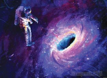 Жуткие предположения о том, что случится, если вы попадете в черную дыру