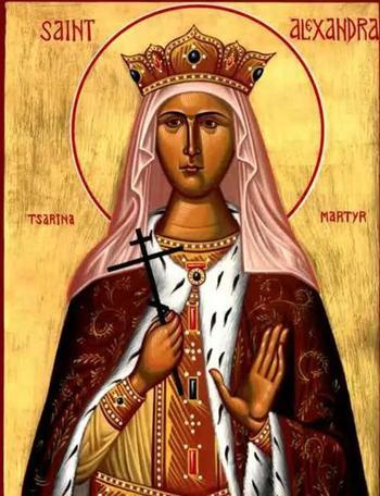 Святая Александра: икона, храм, день святой Александры