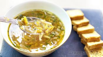 Веганский суп с тыквой и чечевицей за 25 минут