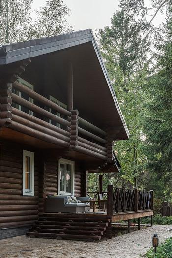 Уютная деревянная дача в Подмосковье