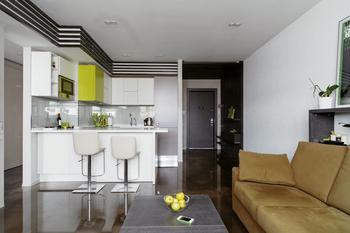 Трёхкомнатная квартира с эклектичным интерьером