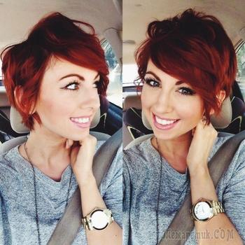 Советы и причёски для девушек с волосами средней и короткой длины