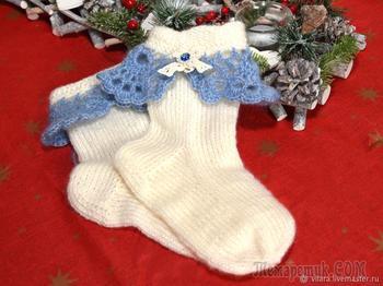 Носки ручной работы — лучший зимний подарок
