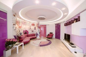 Розовая студия для московской гламурной студентки