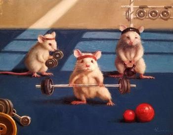 Художница показывает повседневную жизнь мышей в забавных иллюстрациях