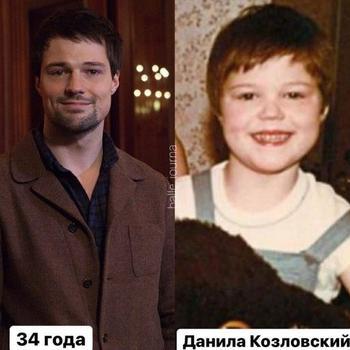 Актёры российского кино в детстве