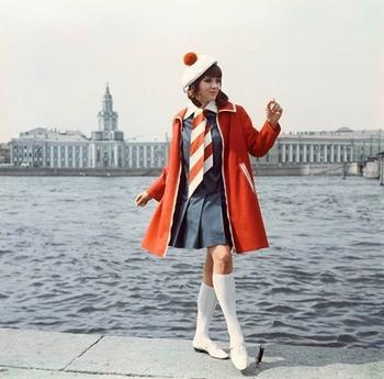 Яркая мода 1960-1980-х