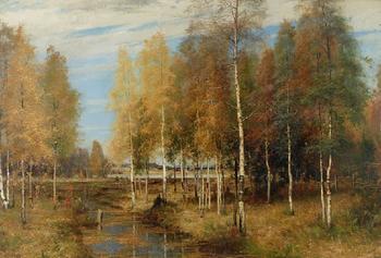 Атмосферные скандинавские пейзажи, которые дарят умиротворение: Художник-классик Арвид Линдстрем