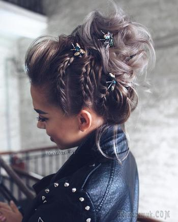 Плетение на короткие волосы: 30 удивительных и женственных идей