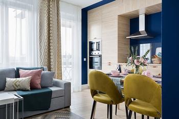Небольшая квартира под сдачу в Санкт-Петербурге (49 кв. м)