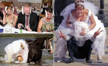 Свадебный беспредел, или Снимки, которые отобьют охоту жениться