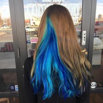 """Новый модный тренд: """"жеодовые"""" волосы"""
