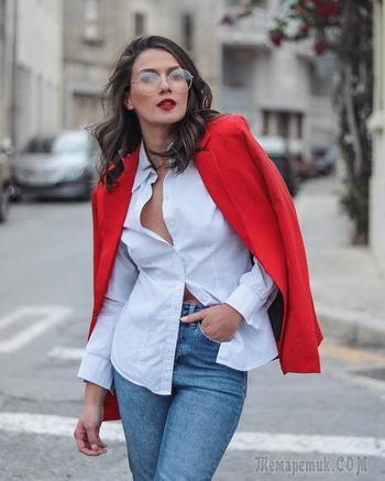 15 модных образов в красном цвете весны 2021 для смелых и независимых женщин