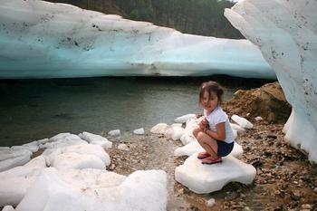 Над вечной мерзлотой: Булуус — ледяной пляж в Якутии