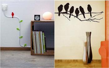 19 идей для домашнего декора для любителей птиц