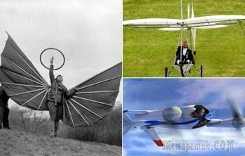 10 энтузиастов, которые обзавелись личными летательными аппаратами