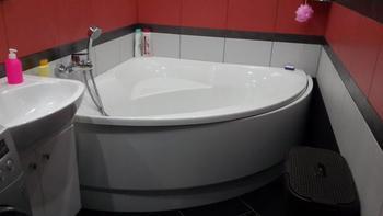 Ванная: Получилось интересно, стильно и необычно