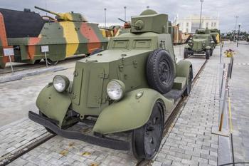 Рассказы об оружии. Бронеавтомобиль ФАИ-М-ЖД