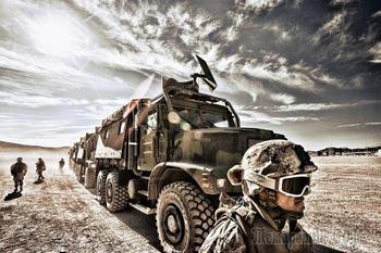 7 мощных военных грузовиков, которым серьезные преграды нипочем