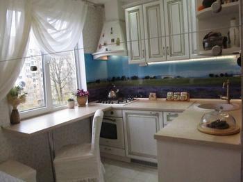 Кухня: прованс на шести квадратных метрах