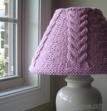 Красивая настольная лампа своими руками из подручных материалов