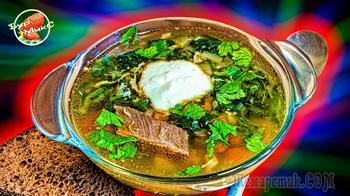 Крапивный суп или Зеленые щи с крапивой