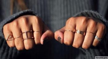 На каких пальцах носить кольца?