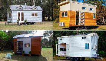Австралийка разработала 5 моделей крошечных домиков, в которых захочется провести выходные