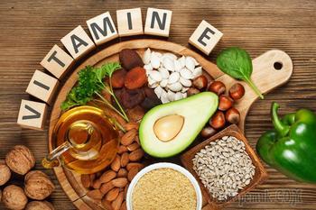 Витамин Е и продукты, содержащие его в большом количестве